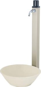 アンフリーズ[本体色]シャンパンゴールド陶芸ポットセレスシルクベージュ組み合わせ例