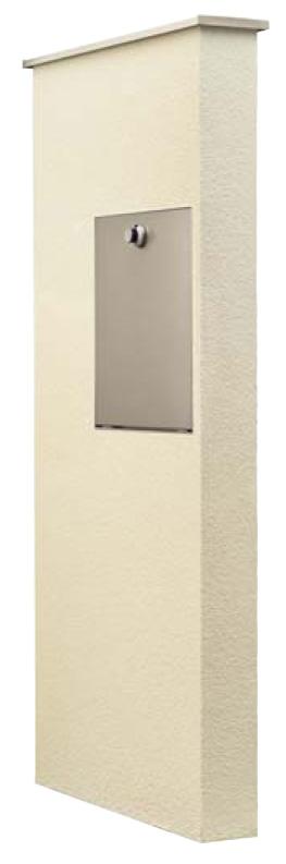 アートウォール門柱S1型Aタイプ 裏側