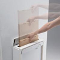 クオール壁付タイプ大型郵便物対応 メール便サイズの投函 (2)