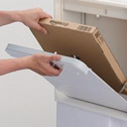 クオール壁付タイプ大型郵便物対応 壁付けタイプ