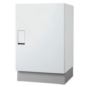 【ナスタ】クオール据置式宅配ボックス(BIG)本体+幅木セット