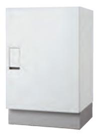 クオール据置式宅配ボックス(BIG) ホワイト×ホワイト