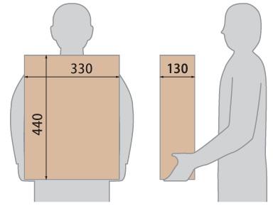 クオール据置式宅配ボックス 受取可能サイズ