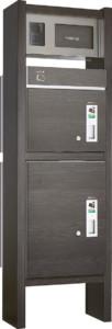 コルディアラックILS_80+100471×1500本体前出し左開きタイプ+インターホンカバー左仕様パイン