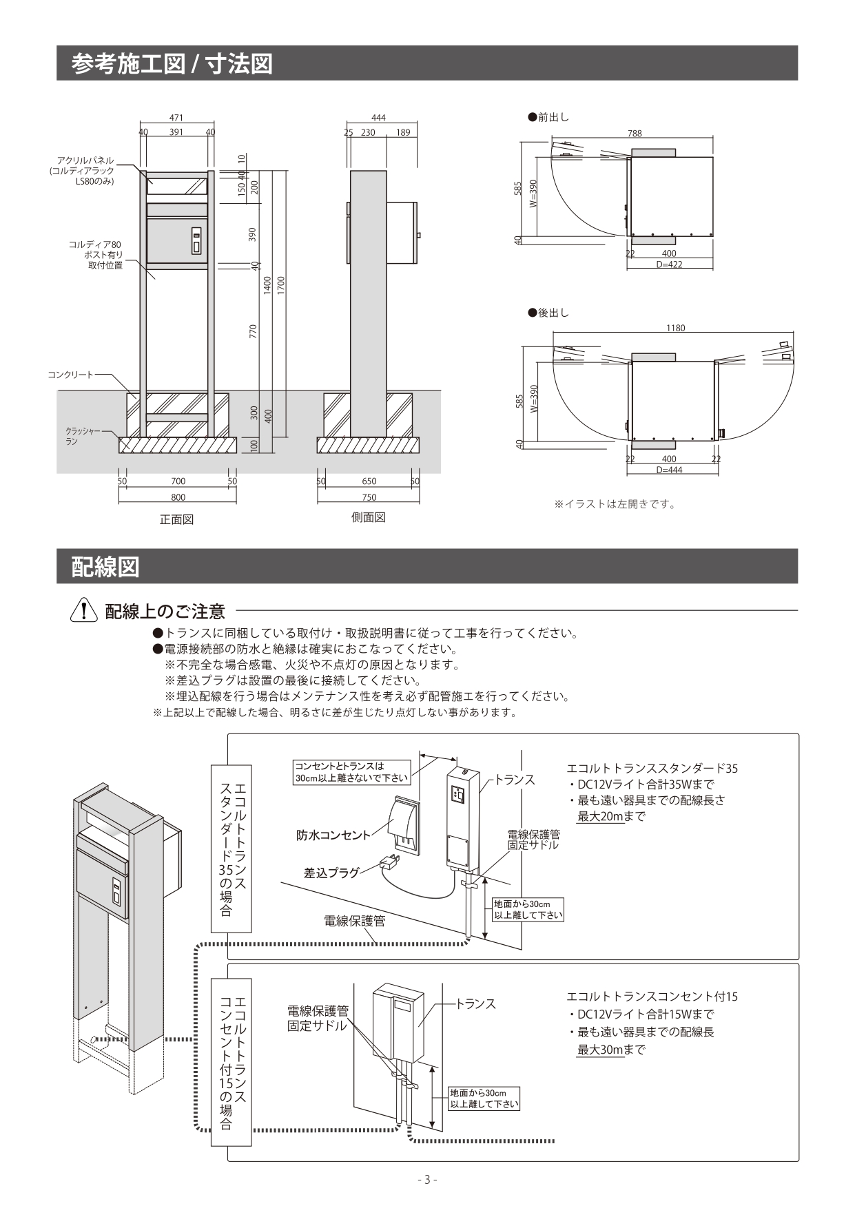 コルディアラックLS80_取扱説明書_page-0003