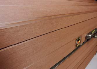 ゴミストッカーWP1型 木質樹脂