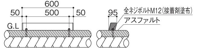 サインストッパーMY1型 据付図 (2)