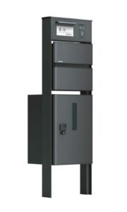 ソネット門柱1型 ブラック
