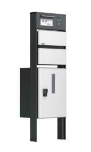 ソネット門柱1型 ホワイト