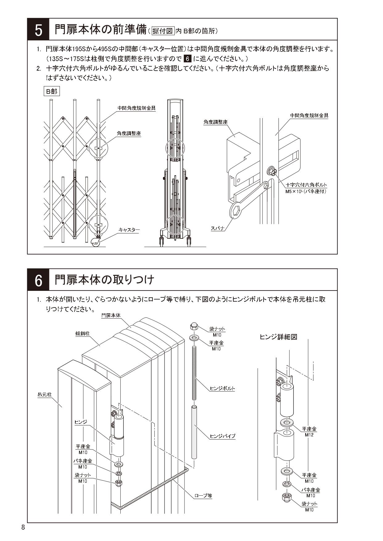 ニューハピネスHG 傾斜・ペットガードタイプ 施工説明書_page-0008