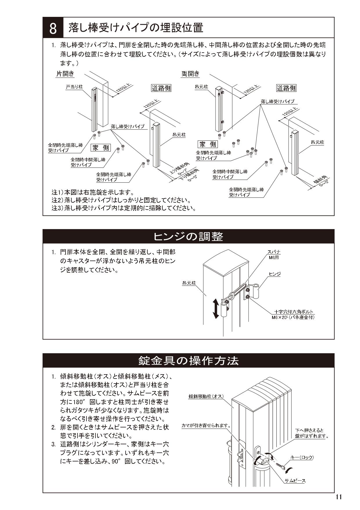 ニューハピネスHG 傾斜・ペットガードタイプ 施工説明書_page-0011