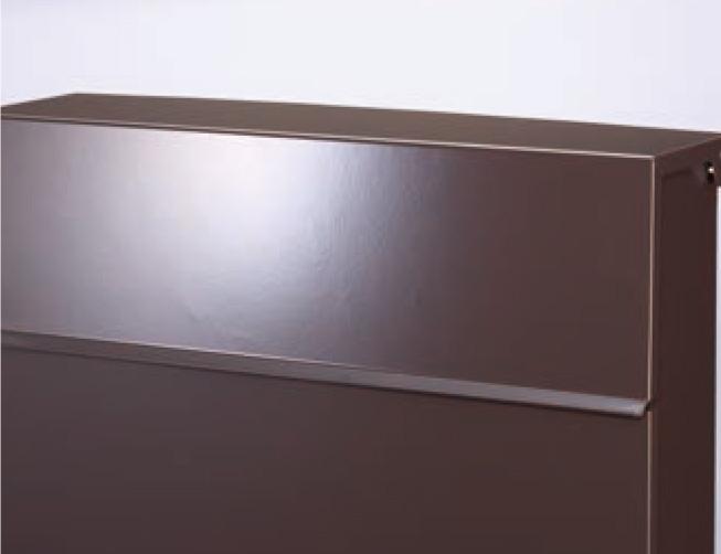 ノルディックワイドポスト サテン調塗装