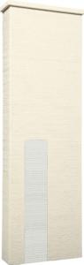 ファミアージュアクシス500×1600[本体]アイボリー[タイル]スノーホワイト
