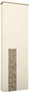 ファミアージュアクシス500×1600[本体]アイボリー[タイル]フォンテブラウン