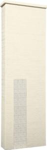 ファミアージュアクシス500×1600[本体]アイボリー[タイル]ミルキーホワイト