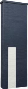 ファミアージュアクシス500×1600[本体]ダークグレー[タイル]スノーホワイト