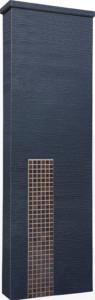 ファミアージュアクシス500×1600[本体]ダークグレー[タイル]セピアブラウン