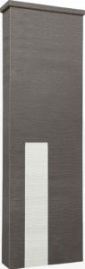 ファミアージュアクシス500×1600[本体]ダークブラウン[タイル]スノーホワイト