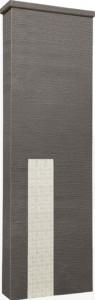 ファミアージュアクシス500×1600[本体]ダークブラウン[タイル]ミルキーホワイト