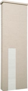 ファミアージュアクシス500×1600[本体]ベージュ[タイル]スノーホワイト