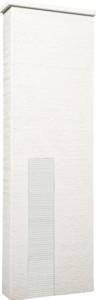 ファミアージュアクシス500×1600[本体]ホワイト[タイル]スノーホワイト