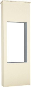 ファミアージュライトコルディア100 ポスト有タイプ520×1510アイボリー