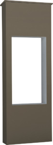 ファミアージュライトコルディア100 ポスト有タイプ520×1510ダークブラウン