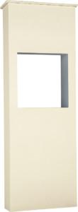 ファミアージュライトコルディア80 ポスト有タイプ520×1510アイボリー