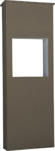 ファミアージュライトコルディア80 ポスト有タイプ520×1510ダークブラウン