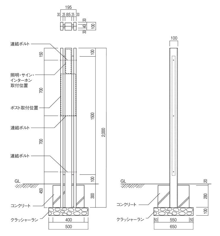 フォルガコネクトtype2 サイズ
