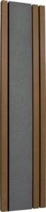 フォレスコネクトOS_type1380×1700[本体色]ブラック[柱の色]ダークブラウン