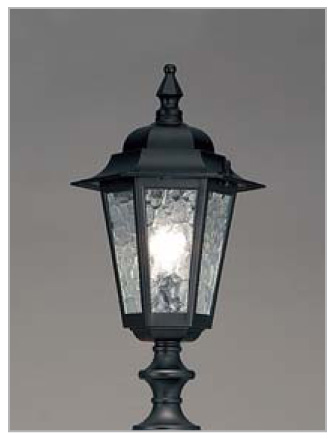 ブルーム門柱M2型 LED照明
