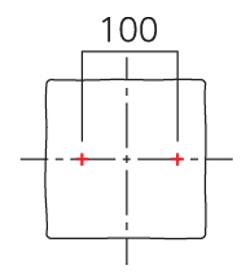 ボルト出し位置 (2)