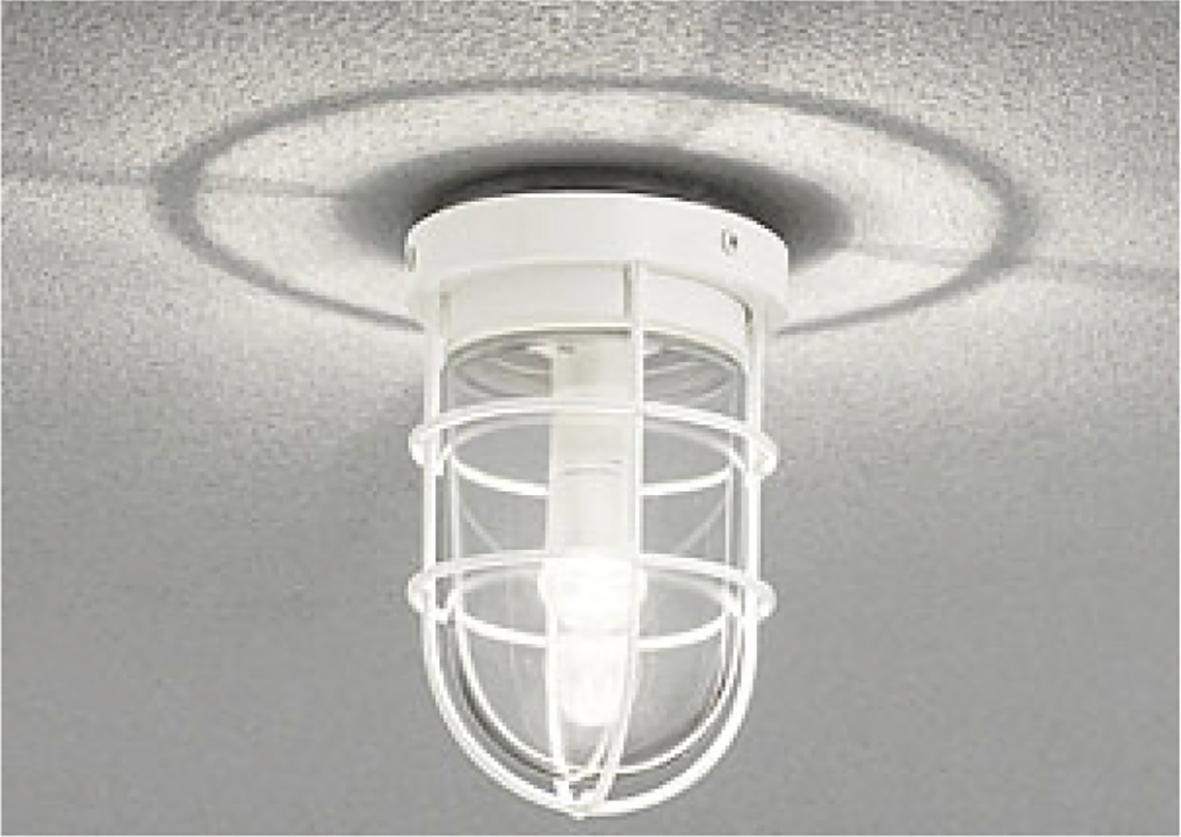 ポージィウォールライト UNOG 041 761LC、602LC、763LC天井面取付け時施工例