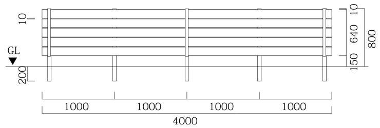 マイティウッドプレミアム 板5段貼 基本型+追加型 サイズ