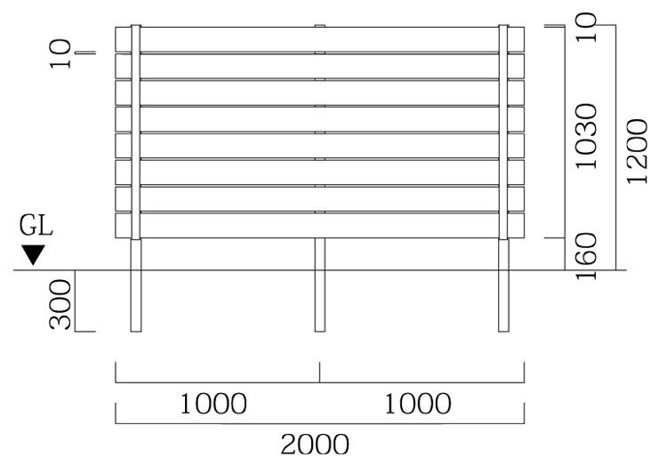 マイティウッドプレミアム 板8段貼 基本型 サイズ