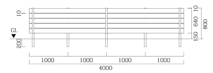 マイティウッドベーシック 基本型+追加型 サイズ