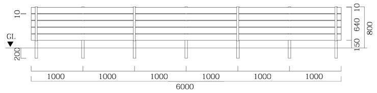 マイティウッド リアルウッド 板5段貼 T-8 基本型+追加型×2 サイズ
