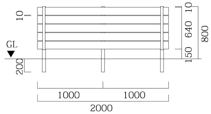 マイティウッド リアルウッド 板5段貼 T-8 基本型 サイズ