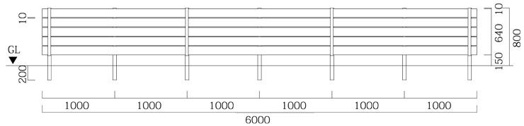 マイディウッドSライン 5段貼 基本型+追加型×2セット サイズ