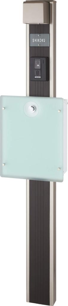 マイ門柱2型 化粧パネル付 イメージ