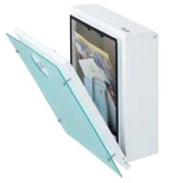 マイ門柱2型 化粧パネル付 保護ガード金具付き