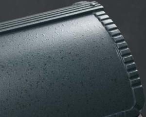 ユーロバッグ 鋳鉄ブラック色 テクスチャー
