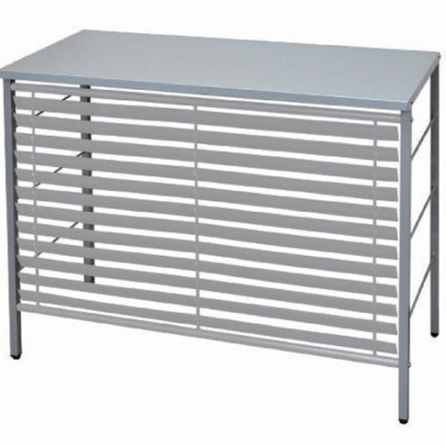 louver outdoor unit rack