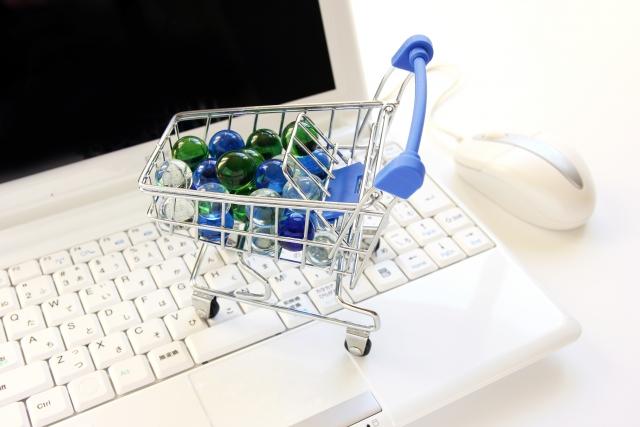 年々増えるネットショッピング