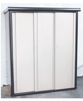 物置3M2-1975型 扉を閉めた状態