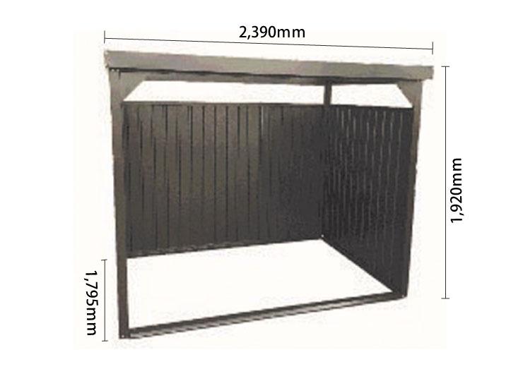 物置DM-10LB サイズ