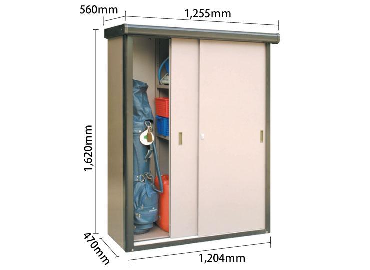物置DM-1612型 サイズ