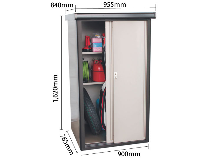 物置DM2-0975型 サイズ