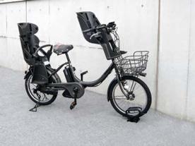 独立式スタンドCS-C 電動自転車